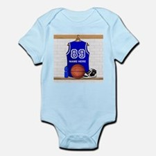Personalized Basketball Jerse Infant Bodysuit