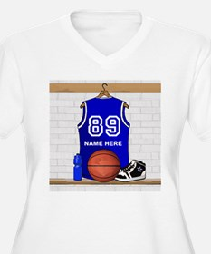 Personalized Basketball Jerse T-Shirt