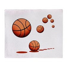Basketball (A) Throw Blanket