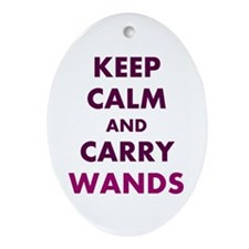 Carry Wands Ornament (Oval)