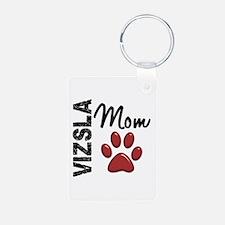 Vizsla Mom 2 Keychains