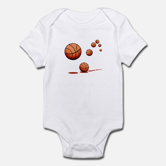 Basketball (A) Infant Bodysuit