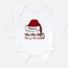 Santa Claus Long Sleeve Infant Bodysuit