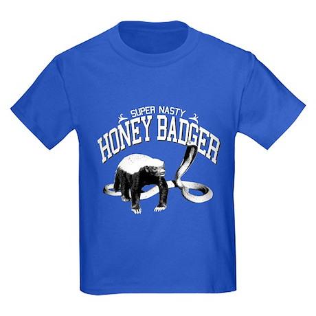 Super-Nasty Honey Badger! - Kids Dark T-Shirt