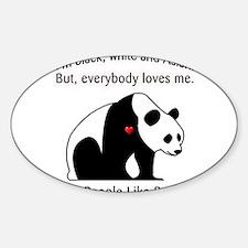 Treat People Like Pandas Decal