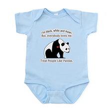 Treat People Like Pandas Infant Bodysuit