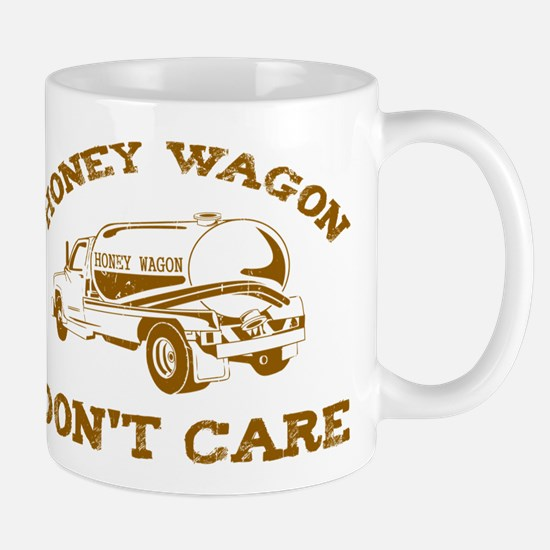 Honey Wagon Don't Care Mug