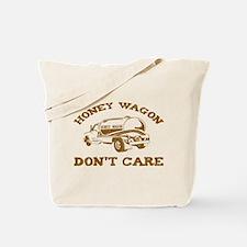Honey Wagon Don't Care Tote Bag
