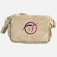 Invisible Pink Unicorn Messenger Bag