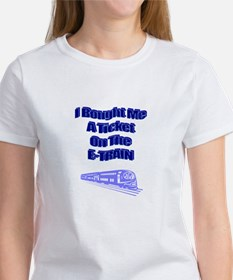 E-Train Ticket Women's T-Shirt