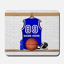 Personalized Basketball Jerse Mousepad