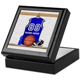 Basketball Keepsake Boxes