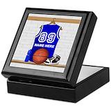 Basketball Keepsake Boxes