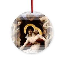 Pieta Ornament (Round)