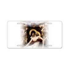 Pieta Aluminum License Plate