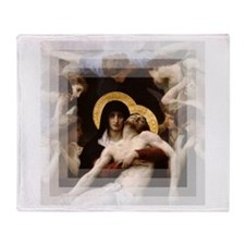Pieta Throw Blanket