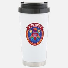 e-Patient Stainless Steel Travel Mug