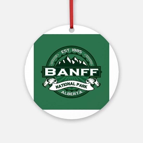 Banff Natl Park Forest Ornament (Round)
