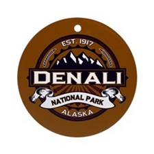 Denali Vibrant Ornament (Round)