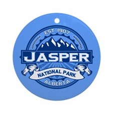 Jasper Cobalt Ornament (Round)