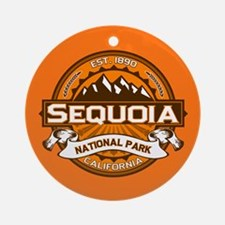 Sequoia Pumpkin Ornament (Round)