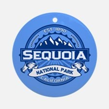 Sequoia Blue Ornament (Round)