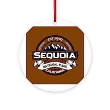 Sequoia Vibrant Ornament (Round)