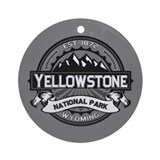 Yellowstone Round Ornaments