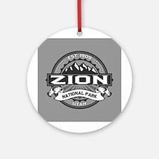 Zion Ansel Adams Ornament (Round)
