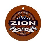 Zion Round Ornaments
