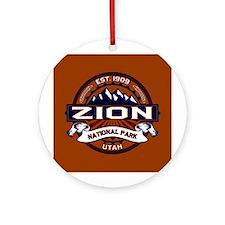Zion Vibrant Ornament (Round)
