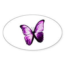 Purple Butterfly Decal