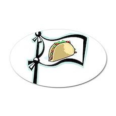 Taco!! 22x14 Oval Wall Peel