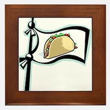 Taco!! Framed Tile