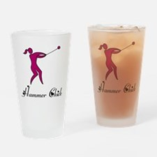 Hammer Chick Drinking Glass