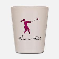 Hammer Chick Shot Glass