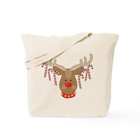 Reindeer Ornaments Tote Bag