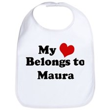 My Heart: Maura Bib