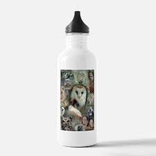Happy Owls Water Bottle