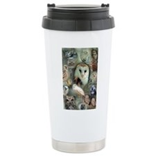 Happy Owls Travel Coffee Mug