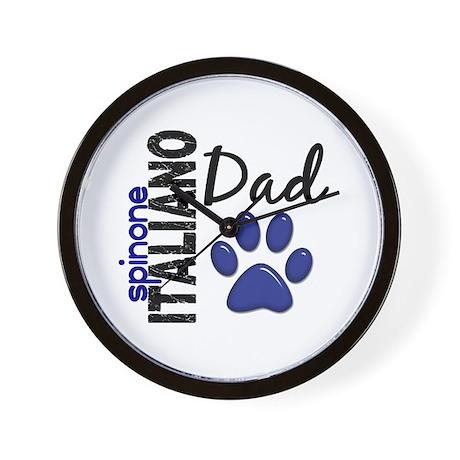 Spinone Italiano Dad 2 Wall Clock