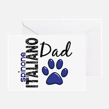 Spinone Italiano Dad 2 Greeting Card