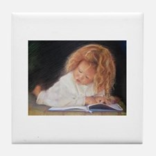 Cute Art children Tile Coaster