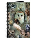 Owl Journals & Spiral Notebooks
