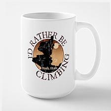 I'd Rather Be Climbing - Girl Mug