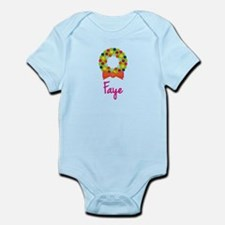 Christmas Wreath Faye Infant Bodysuit
