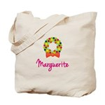 Christmas Wreath Marguerite Tote Bag