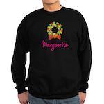 Christmas Wreath Marguerite Sweatshirt (dark)