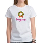 Christmas Wreath Marguerite Women's T-Shirt