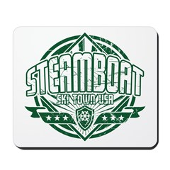 Steamboat Old Square Mousepad